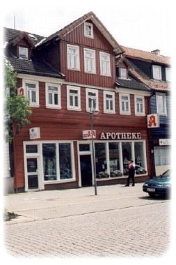 Apotheke Hirsch in Altenau